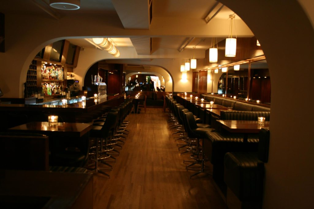 The Marquis Bar and Grill Interior shot